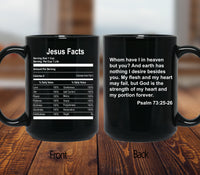 Jesus Facts Mugs/Cups - 60% OFF Now!-Apparel-Our Lord Style
