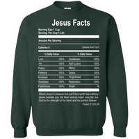 Jesus Facts - Psalm 73:25-26-Apparel-Our Lord Style