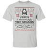 Jesus Is The Reason For The Season Cotton Shirt-Apparel-Our Lord Style