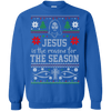 Jesus Is the Reason For The Season (Hoodies)-Apparel-Our Lord Style