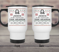 Jesus Is The Reason For The Season Mugs/Cups-Apparel-Our Lord Style