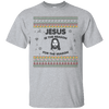 Jesus Is The Reason For The Season V2 Cotton Shirt-Apparel-Our Lord Style