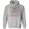 Jesus Is The Reason For The Season V4 Pullover Hoodie-Apparel-Our Lord Style