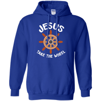 Jesus Take The Wheel Pullover Hoodie-Apparel-Our Lord Style