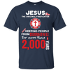 Jesus The Original Firefighter! Cotton Shirt-Apparel-Our Lord Style