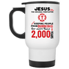 Jesus The Original Firefighter Mugs-Apparel-Our Lord Style