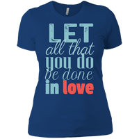 Let All That You Do Be Done In Love-Apparel-Our Lord Style