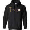 Love Drawing Pullover Hoodie-Apparel-Our Lord Style