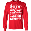 Love is a man called Jesus!-Apparel-Our Lord Style