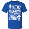 Love Is A Man Called Jesus (Ladies')-Apparel-Our Lord Style