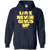 Love Never Gives Up (I Cor 13) Pullover Hoodie-Apparel-Our Lord Style