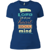 Love The Lord With All Your Heart Soul Mind-Apparel-Our Lord Style