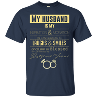 My Husband Is Apparel Cotton Shirt-Apparel-Our Lord Style