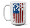 One Nation Under God Mugs-Apparel-Our Lord Style
