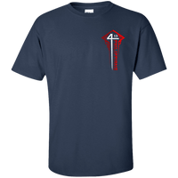Philippians 4:13 Cotton Shirt (Chest Design)-Apparel-Our Lord Style