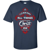 Philippians 4:13 (Front Design)-Apparel-Our Lord Style