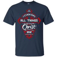 Philippians 4:13 (Ladies' Front Design)-Apparel-Our Lord Style