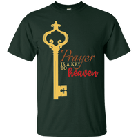 Prayer Is A Key To Heaven Cotton Shirt-Apparel-Our Lord Style