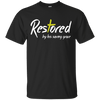 Restored By His Saving Grace Cotton Shirt-Apparel-Our Lord Style