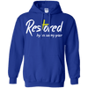 Restored By His Saving Grace Pullover Hoodie-Apparel-Our Lord Style