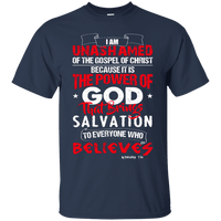 Romans 1:16 Cotton Shirt-Apparel-Our Lord Style