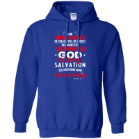 Romans 1:16 Pullover Hoodie-Apparel-Our Lord Style