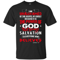 Romans 1:16 - Tees & Hoodies-Apparel-Our Lord Style