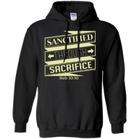 Sanctified Through Sacrifice (Heb 10:10)-Apparel-Our Lord Style
