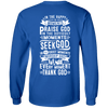 Seek God (Back Design)-Apparel-Our Lord Style