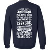 Seek God Hoodies/Sweatshirts (Back Design)-Apparel-Our Lord Style