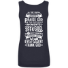 Seek God Tank Tops (Back Design)-Apparel-Our Lord Style