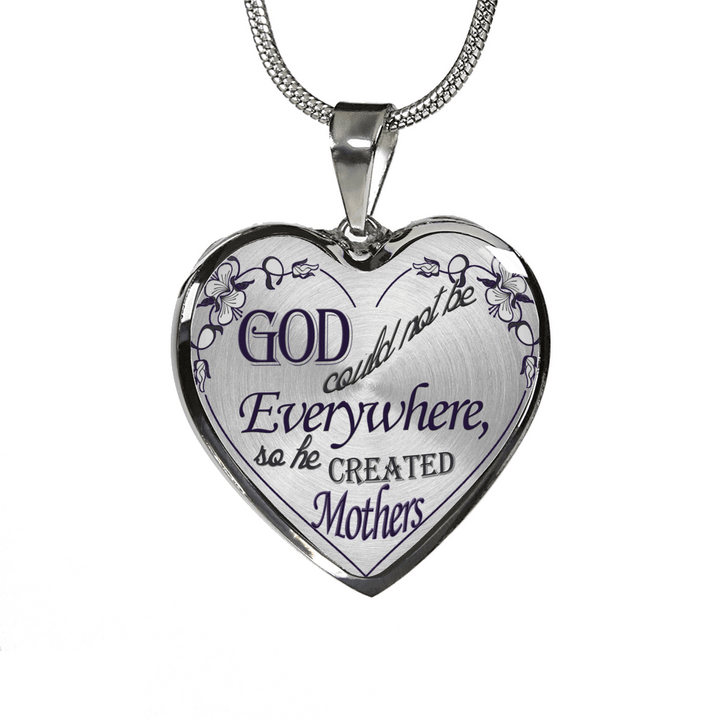 Silver God Created Mothers Necklaces & Bangles-Jewelry-Our Lord Style