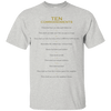 Ten Commandments-Apparel-Our Lord Style