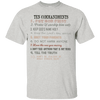 Ten Commandments V3 Cotton Shirt-Apparel-Our Lord Style