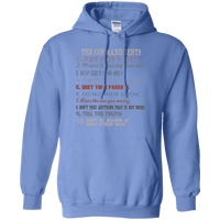 Ten Commandments V3 Pullover Hoodie-Apparel-Our Lord Style