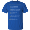 The 10 Commandments-Apparel-Our Lord Style