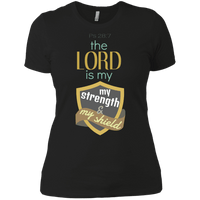 The Lord Is My Strength & My Shield-Apparel-Our Lord Style