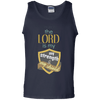 The Lord Is My Strength & My Shield Cotton Tank Top-Apparel-Our Lord Style