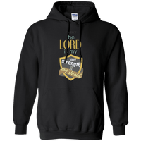 The Lord Is My Strength & My Shield Pullover Hoodie-Apparel-Our Lord Style