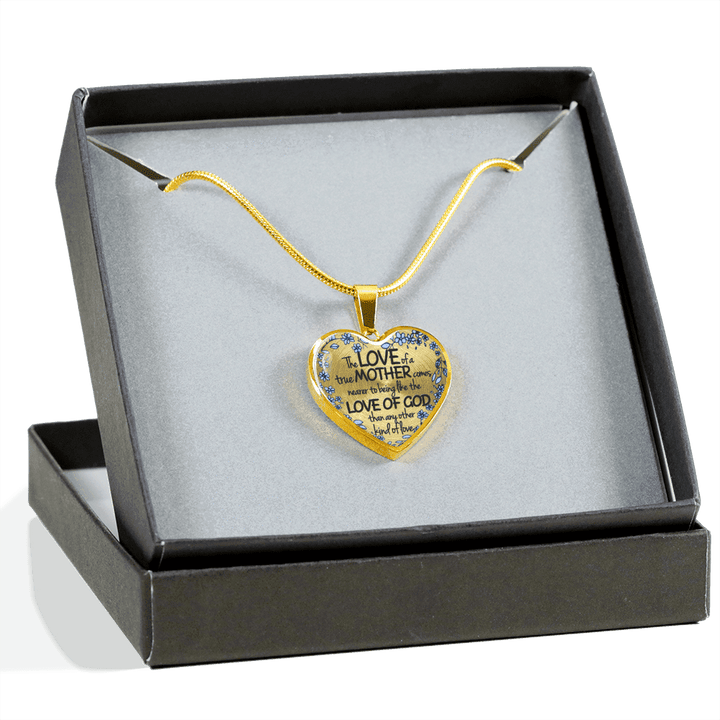 The Love Of A True Mother Gold Necklaces & Bangles-Jewelry-Our Lord Style