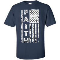 United States Of Faith Cotton Shirt (Front Design)-Apparel-Our Lord Style