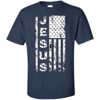 United States Of Jesus Cotton Shirt-Apparel-Our Lord Style