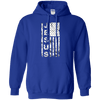 United States Of Jesus Pullover Hoodie (Front Design)-Apparel-Our Lord Style