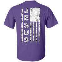 United States Of Jesus - Unisex Tee (Back Design)-Short Sleeve-Our Lord Style