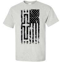 United States of the Cross Light Cotton Shirt-Short Sleeve-Our Lord Style