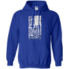 United States Of The Cross Pullover Hoodie (Front Design)-Apparel-Our Lord Style
