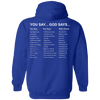 V1 God Says (Back Design)-Apparel-Our Lord Style