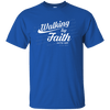 Walking By Faith Not By Sight (11 Cor 5:8-9) Cotton Shirt-Apparel-Our Lord Style