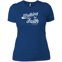 Walking By Faith Not By Sight (11 Cor 5:8-9) Women's Shirt-Apparel-Our Lord Style