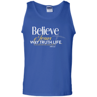 Way.Truth.Life Cotton Tank Top-Apparel-Our Lord Style
